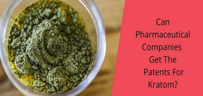 Can Pharmaceutical Companies Get The Patents For Kratom_