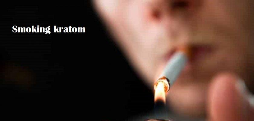 Smoking-Kratom