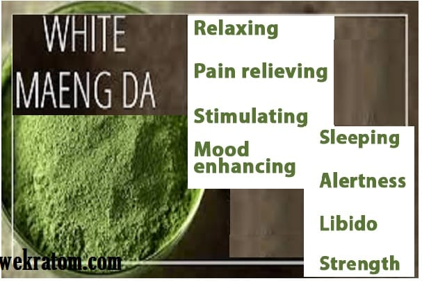 White Maeng Da Kratom - Dosage - Benefits & Effects