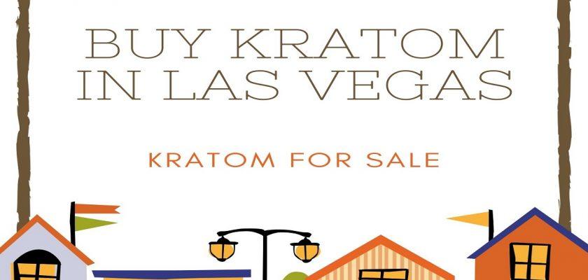 Buy Kratom In Las Vegas