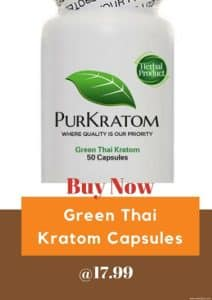 Buy Green Thai Kratom Capsules