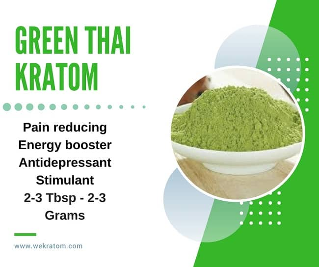 Green Thai Kratom Effects