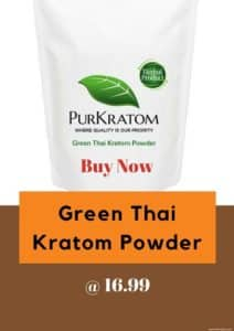 Buy Green Thai Kratom Powder