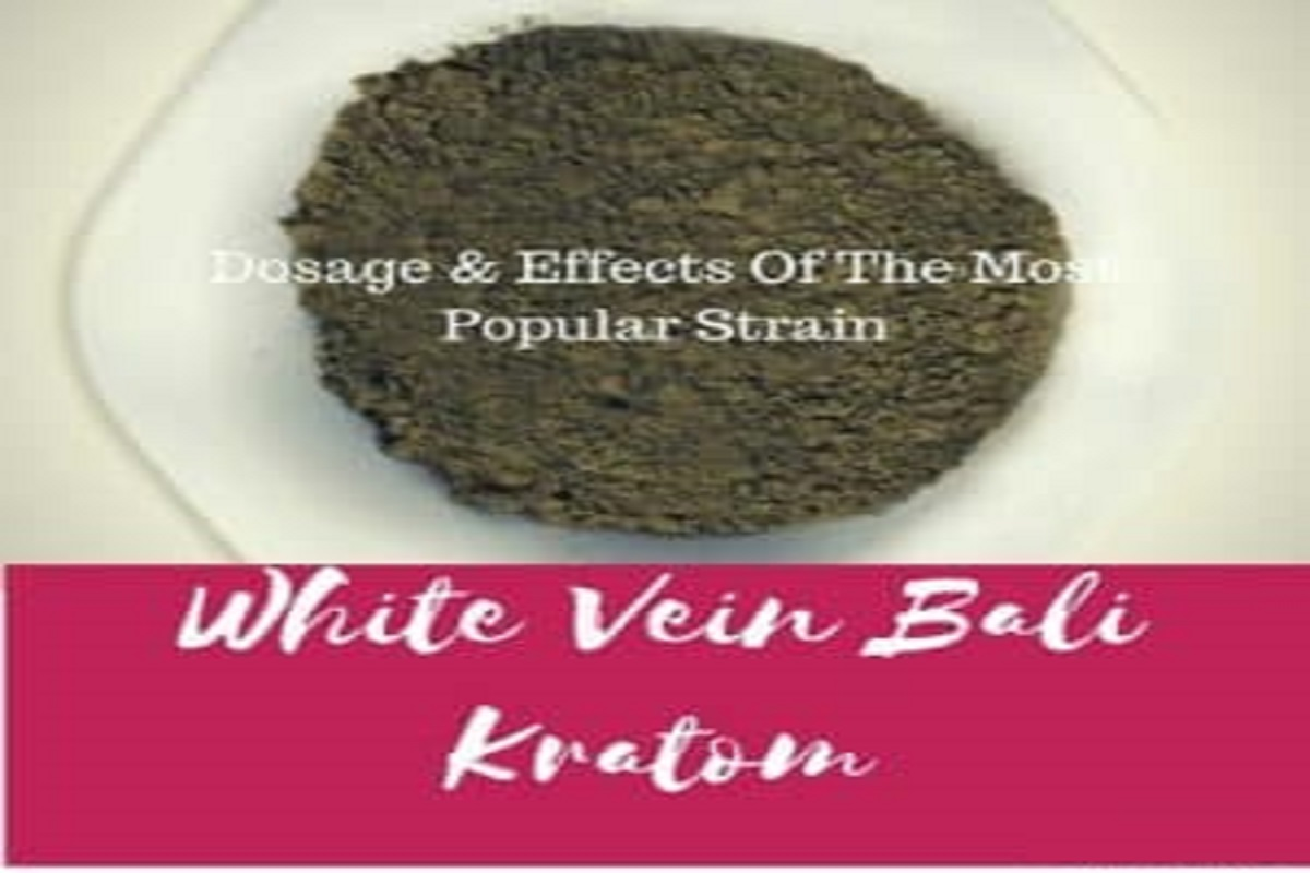White Bali Kratom Dosage Effects Of The Most Popular Strain