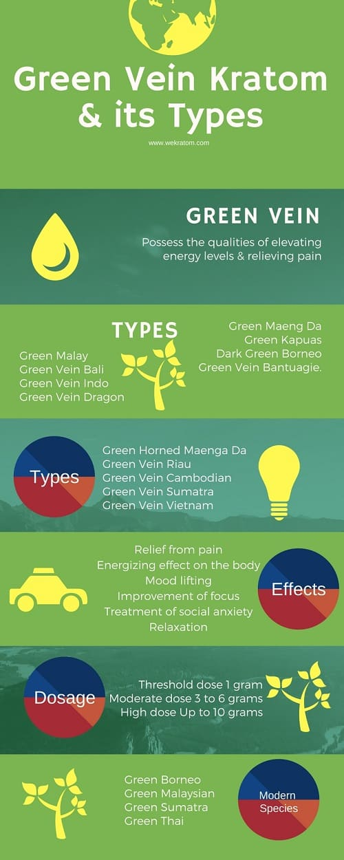 green vein kratom effects