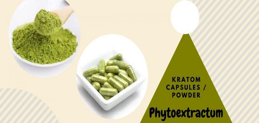 Phytoextractum kratom
