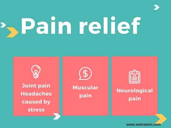 kratom pain relief benefit