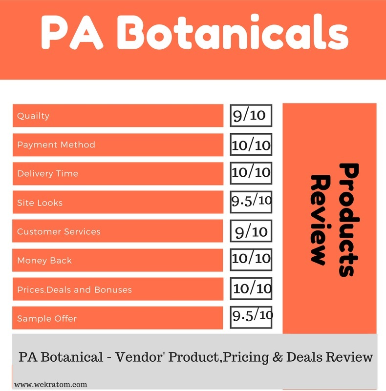 PA Botanical Vendor' Review