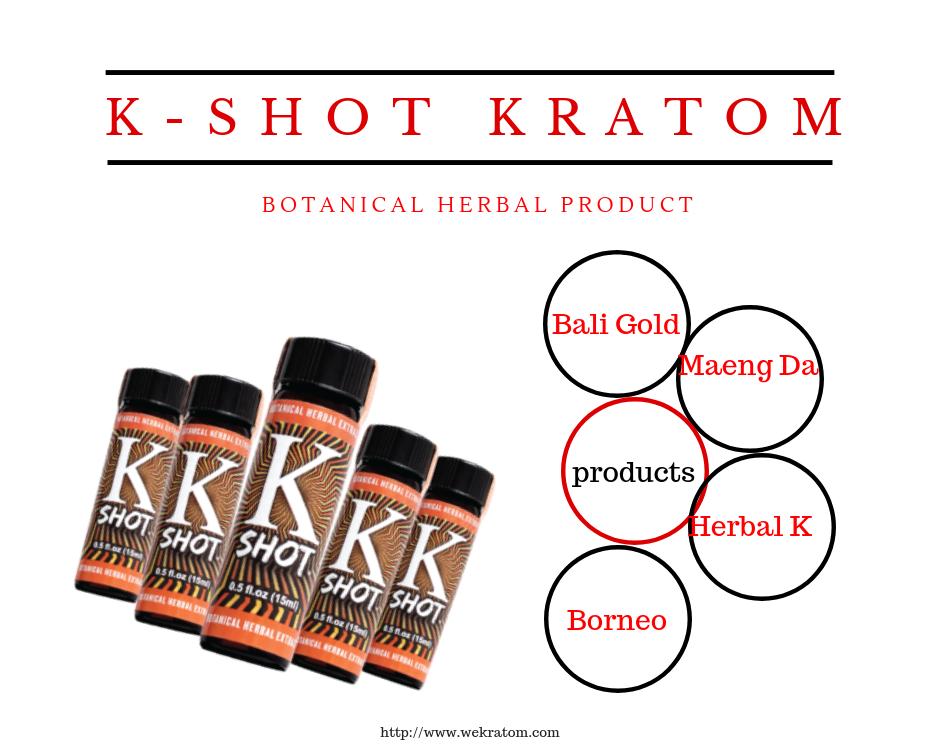 K- Shot Kratom - Product Selection - Deals & Prices
