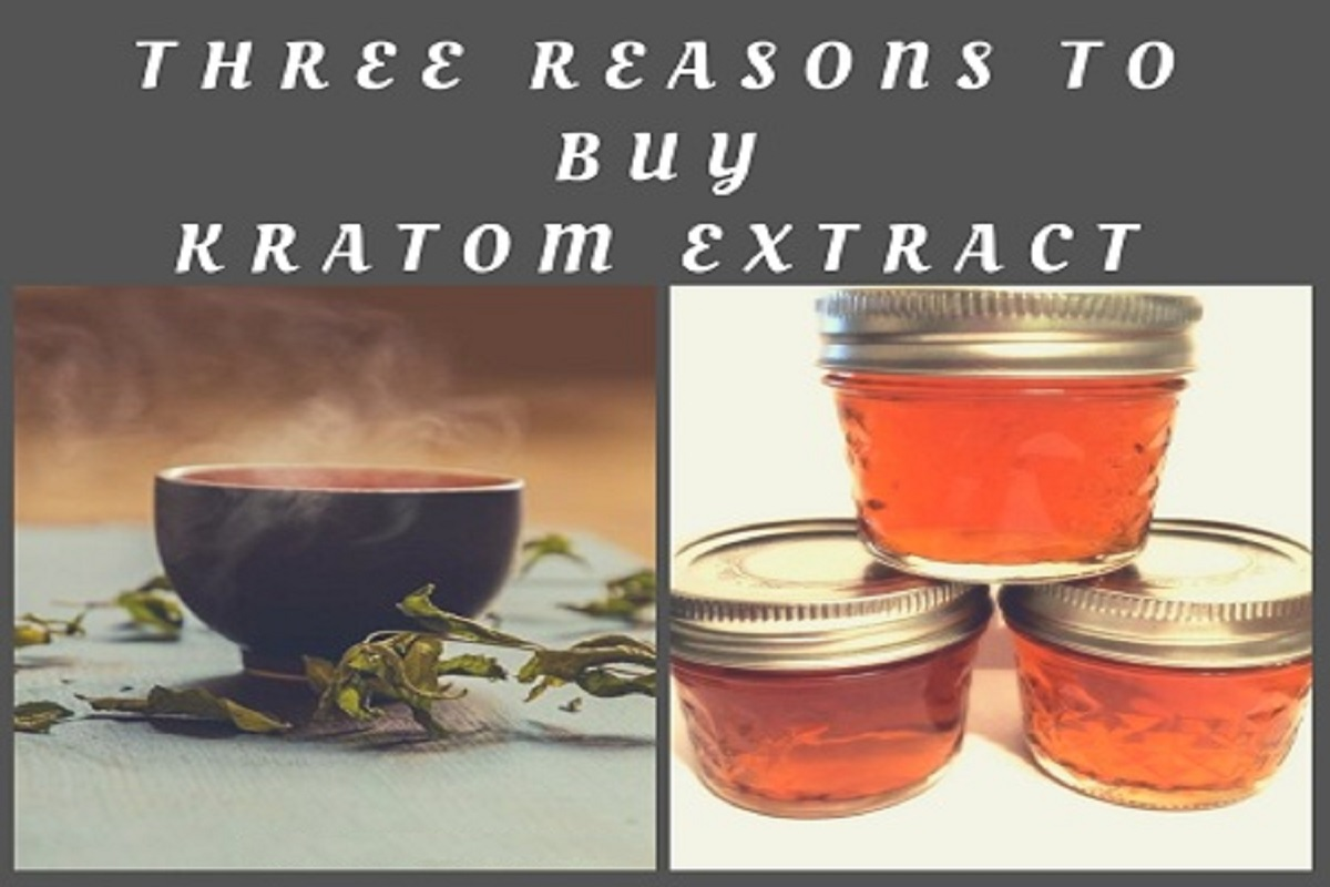 Three Reasons To Buy Kratom Extract
