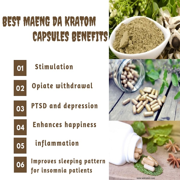 Best Maeng Da Kratom Capsules Benefits