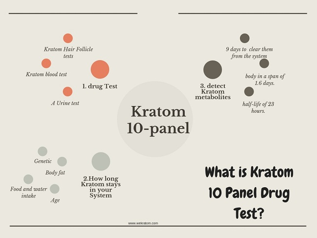 kratom 10 panel drug test
