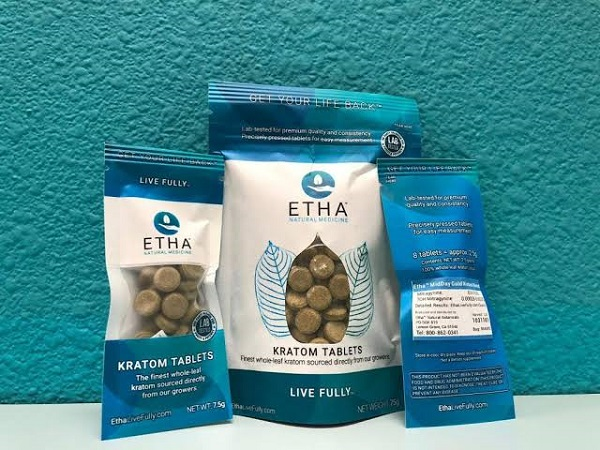 Etha Kratom for pain relief