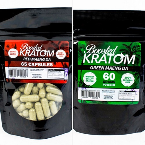 Boosted Kratom products